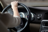 Woman driving a car. Image from Shutterstock