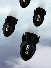 DDoS image, courtesy of Shutterstock