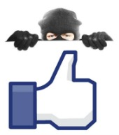 Facebook scam, image courtesy of Shutterstock