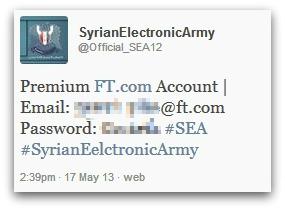 SEA reveal FT password