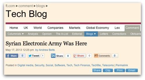 FT blog