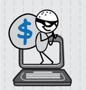 Cybercriminal image from Shutterstock