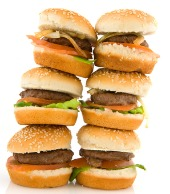 Hamburgers. Image from Shutterstock