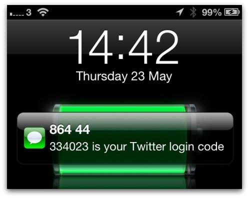 Twitter login code