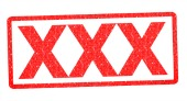 XXX stamp, image courtesy of Shutterstock