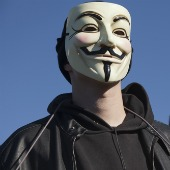 Anonymous, image courtesy of Shutterstock