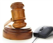 Gavel and mouse, image courtesy of Shutterstock
