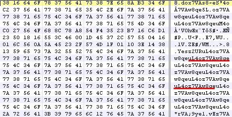 Header of encoded file in Sibhost JAR