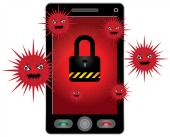 Smartphone malware. Image courtesy of Shutterstock