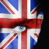 UK flag eye, image courtesy of Shutterstock
