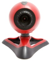 Red webcam. Image courtesy of Shutterstock
