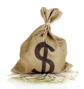 Bag of money. Image courtesy of Shutterstock.