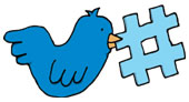 Twitter bird. Image courtesy of Shutterstock.