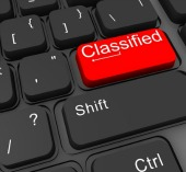Classified. Image courtesy of Shutterstock