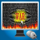 Cyber war. Image courtesy of Shutterstock
