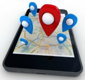 Geolocation map. Image courtesy of Shutterstock