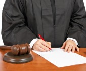 Judge orders. Image courtesy of Shutterstock