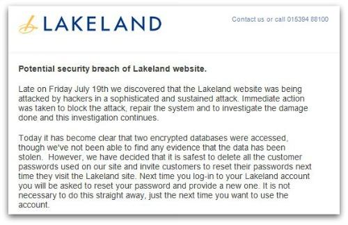 Lakeland email
