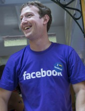 Mark Zuckerberg. Image courtesy of Kobby Dagan / Shutterstock.