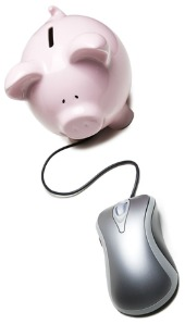 Piggy and mouse. Image from Shutterstock