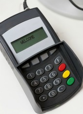 PoS machine. Image courtesy of Shutterstock