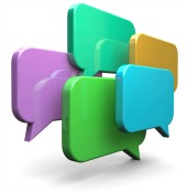Social network chat. Image courtesy of Shutterstock.
