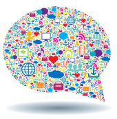 Speech bubble. Image courtesy of Shutterstock.