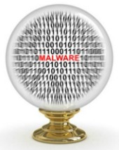 Crystal ball malware. Image courtesy of Shutterstock