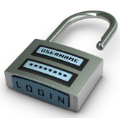 Padlock. Image courtesy of Shutterstock.