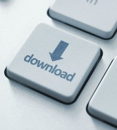 Download key. Image courtesy of Shutterstock.