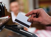 POS swipe card. Image courtesy of Shutterstock