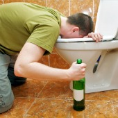 Drunk guy, image courtesy of Shutterstock