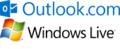 Outlook.com and Windows Live logos