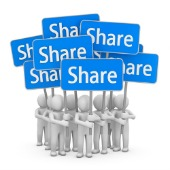Share, image courtesy of Shutterstock