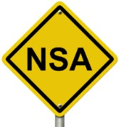 NSA sign. Image courtesy of Shutterstock
