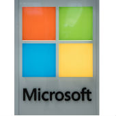 Microsoft logo courtesy of Shutterstock