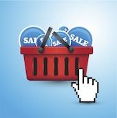 Image of online shopping cart courtesy of Shutterstock