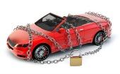 Padlocked car. Image courtesy of Shutterstock.