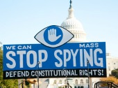 NSA protest. Image courtesy of Shutterstock