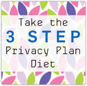 The Privacy Plan Diet