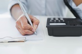 Person answering phone, courtesy of Shutterstock
