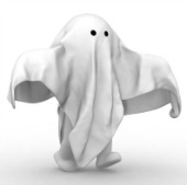 Ghost. Image courtesy of Shutterstock.