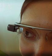Google Glass image courtesy Wikimedia Commons, Antonio Zugaldia