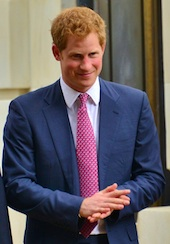Prince Harry, image from Wikipedia under Creative Commons