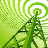 WiFi tower. Image courtesy of Shutterstock