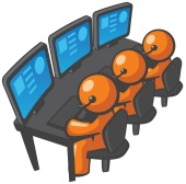 Call center. Image courtesy of Shutterstock.