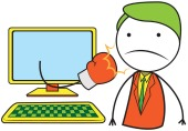 Cyber bullying. Image courtesy of Shutterstock