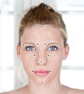 Facial recognition. Image courtesy of Shutterstock