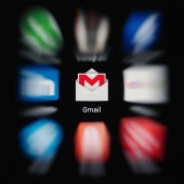 Gmail. Image courtesy of Shutterstock