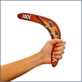 Boomerang image courtesy of Shutterstock